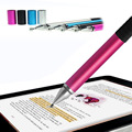 Colorful  gaming touch pen 2in1 Capacitive Touch Screen Stylus with Ball Point Pen Fit for Iphone Ipad Samsung Tablet Phone PC