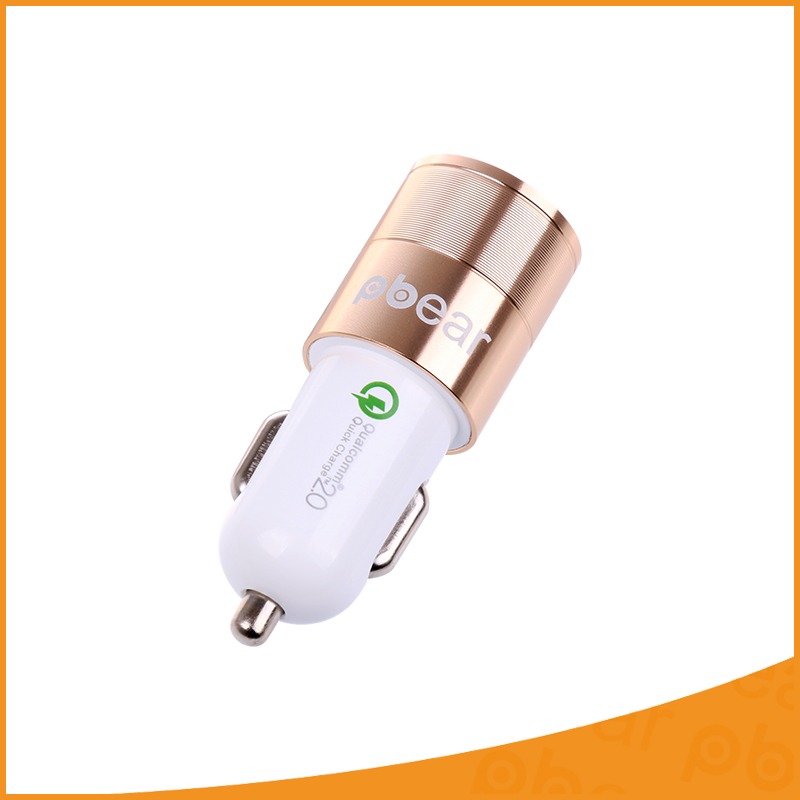 Universal Car Charger high quality Traver Adapter Car Plug Hot Selling portable Dual 2 USB Ports