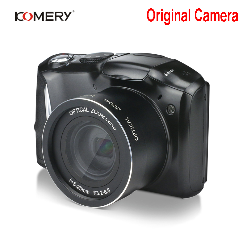 Komery Originale HD Digitale & Video Camera LCD IPS da 3.5 pollici 2400 w Pixel 4X Zoom Digitale camara fotografica digitale profesional