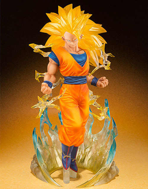 15cm Super Saiyan 3 Dragon Ball Z Goku Action Figure PVC Collection figures toys for christmas gift brinquedos free shipping