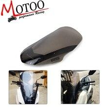 Motorcycle Windscreen Windshield Deflector For Yamaha NMAX155 N MAX 125 NMAX 155 2016 2018