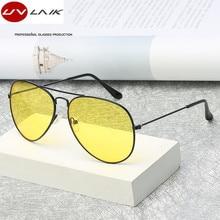 UVLAIK Polarized Night Vision Sunglasses Men Women Goggles Glasses UV400 Sun Glasses Driver Night Driving Eyewear
