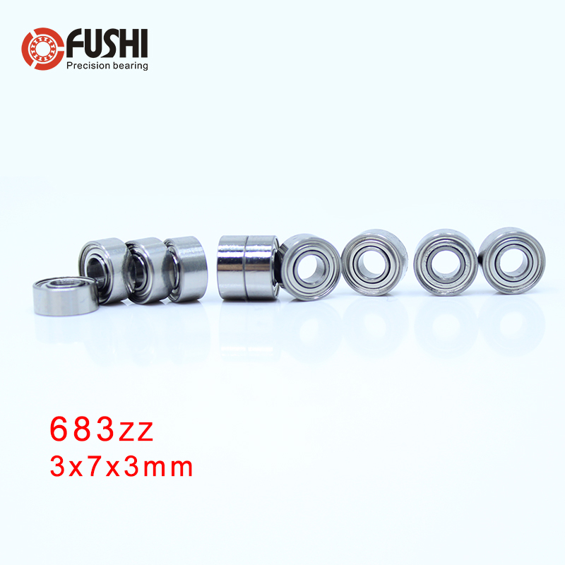 683ZZ ABEC 7 100PCS 3x7x3MM High Quality Miniature Ball Bearings 618 3ZZ
