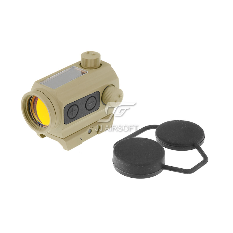 TARGET 1x24 Solar Power Red Dot with Low Mount (Tan) HS403C IPSC