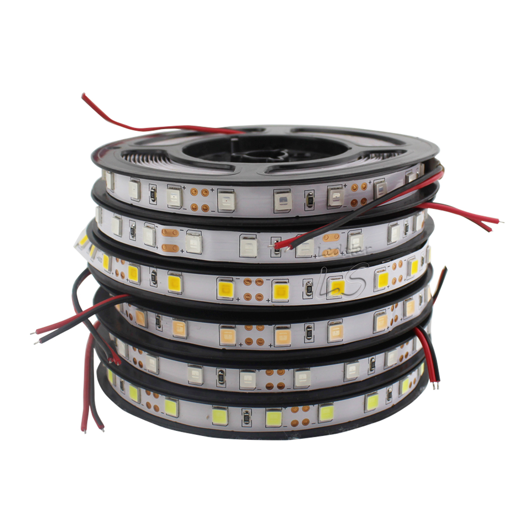New arrived Brighter 120LEDs/m 60LEDs/m LED Strip 5054 DC12V Flexible LED Light, 5054 is the Upgrade of 5050. ...