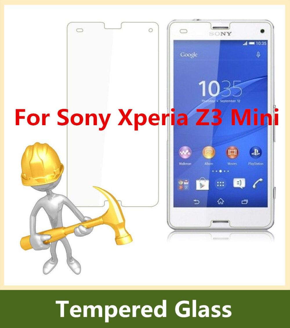 0.3mm 9H vidrio templado para Sony Xperia Z3mini Protector de - Accesorios y repuestos para celulares