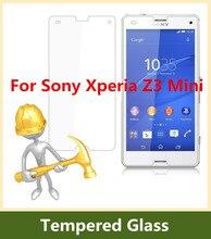 0.3mm 9H Tempered Glass For Sony Xperia Z3mini Screen Protector Film for Xperia Z3 Compact M55W Guard pelicula de vidro