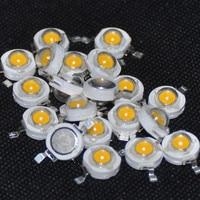 led warm 20pcs High Power LED 1 W Ultra Bright High Power  Warm White LED Beads (2)