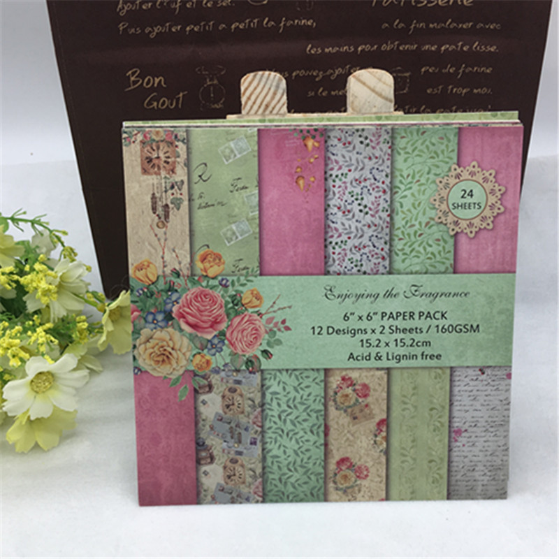 Fiori Misti Card Making Scrapbook Abbellimenti Carta