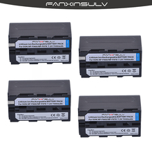 4 True capacity7800mAh NP-F970 Batteries NP F970 F960 Battery For sony  HXR-NX3 dcrvx2100 hdrfx1 fx7 hd1000u hvrz1u pm092 mc2500 цена