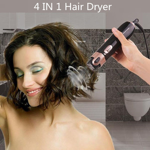 Image 5 - 4 in 1 Styling Tool Hair Dryer Hair Curler Comb Salon Professional Electric Hair Dryer Blower Multifunctional Styling Set