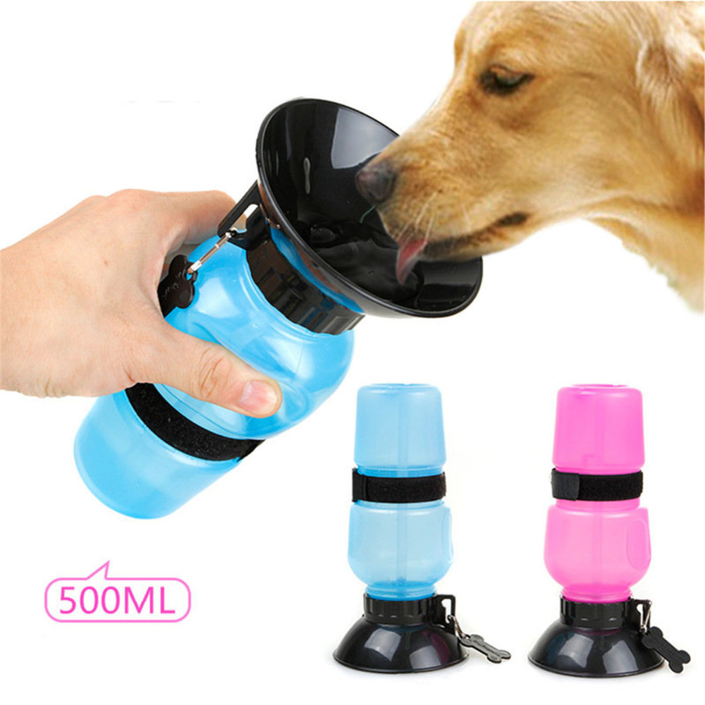Portable Dog Cat Pet Puppy Drinker Fresh Water Bottle: Portable Waterers Pet Outdoor Travelling Kettle Dog