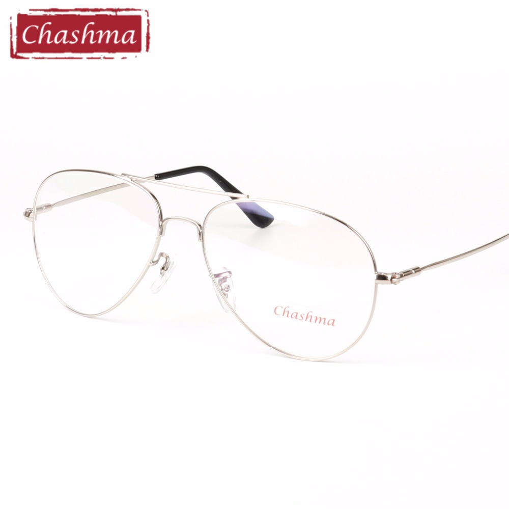 Chashma Brand Clear Eyeglasses Gold Glasses Frames Prescription ...
