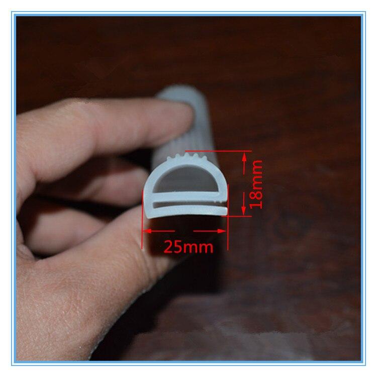 Dichtleisten Gutherzig 3 Mt 16x13mm 25x18mm E Artikel Silikon Bar Hohe Temperaturbeständigkeit Wärme-beständig E Die Ofen Gummidichtungsband Gummidichtung Streifen