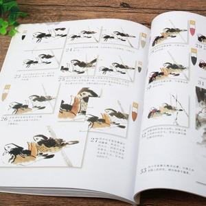Image 3 - Chinesische Pinsel Tinte Kunst Malerei Selbst Studie Technik Ziehen Vögel Buch, Malerei und kalligraphie copybook