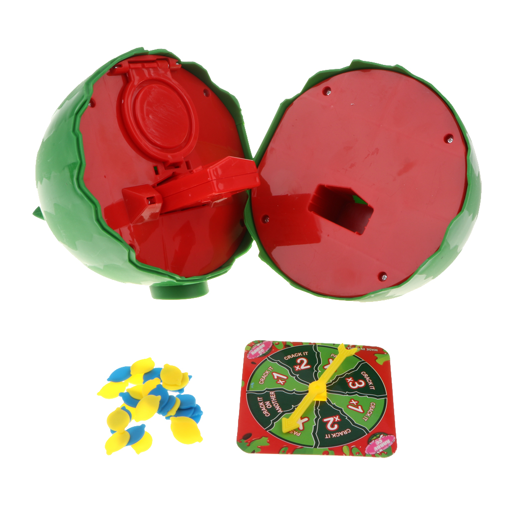 Fun Water Challenge Toy - Watermelon Crack Game Party Roulette Game Prank Toys For Kids And Adult Family Game Props
