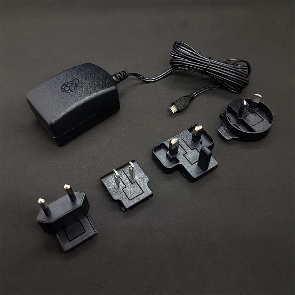 Image 4 - Official Raspberry Pi Foundation 5V 2.5A Power Supply BLACK/WHITEDemo Board   -