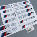 Qualidade Original M M motorsport emblema etiqueta para bmw E36 E38 E39 E46 E52 E53 E60 E61 E63 E90 F30 F10 X3 X5 X6 M 125I