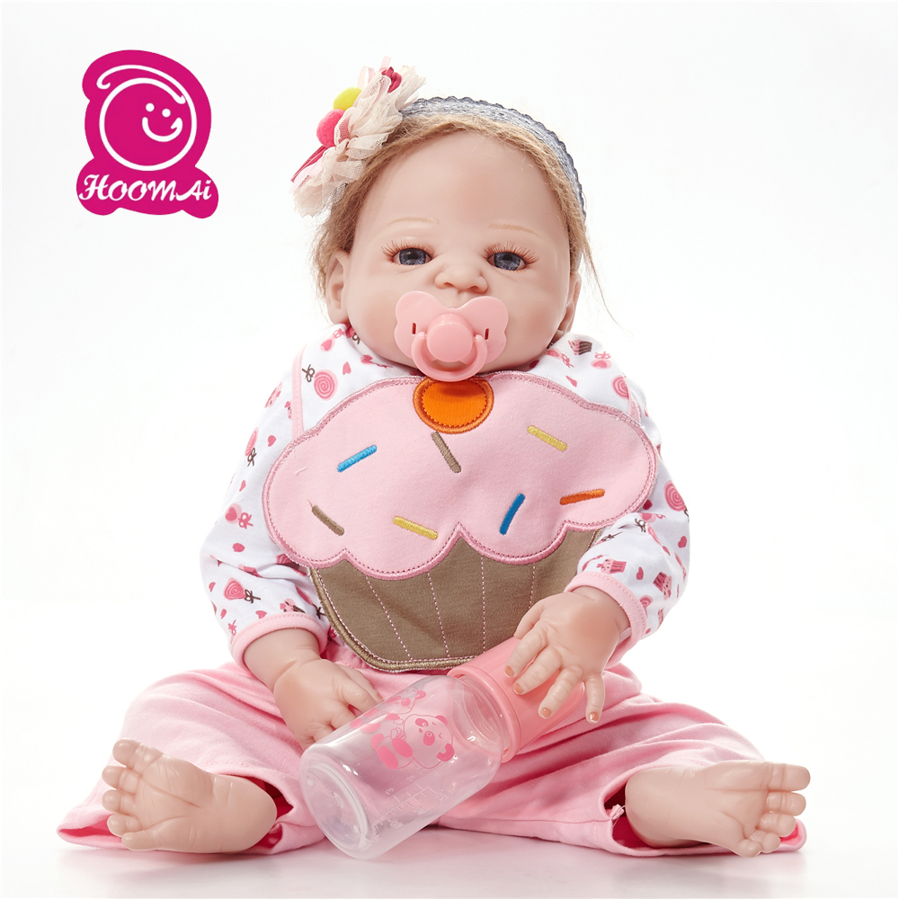 22 Inch Doll Reborn Babies Doll For Girls 55 CM Realistic Soft silicone Alive Reborn Baby Doll For Kids toy22 Inch Doll Reborn Babies Doll For Girls 55 CM Realistic Soft silicone Alive Reborn Baby Doll For Kids toy