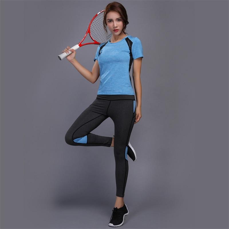 Women Yoga Set Gym Fitness Clothes (2)
