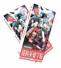 188pcs/set Anime Yuri On Ice Postcard Victor Nikiforov Katsuki toy Cosplay Magic Paper Collection Card