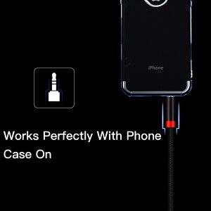 Image 5 - Lungfish aux cabo jack 3.5mm cabo de áudio 3.5mm jack alto falante 1m 2m 3m 5 m para iphone samsung xiaomi carro fone de ouvido alto falante