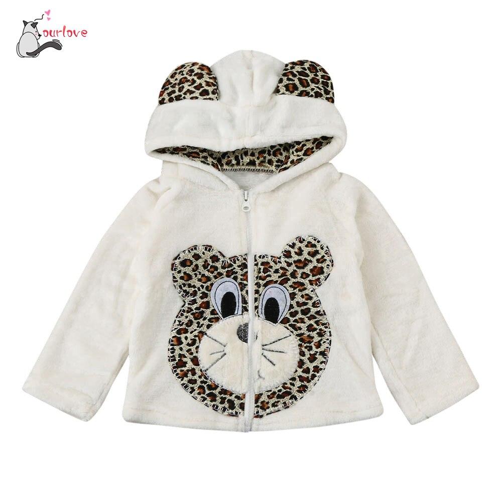 Осень зимняя куртка Обувь для девочек для младенцев Обувь для мальчиков Обувь для девочек мультфильм животных пальто с капюшоном плащ Топы ...
