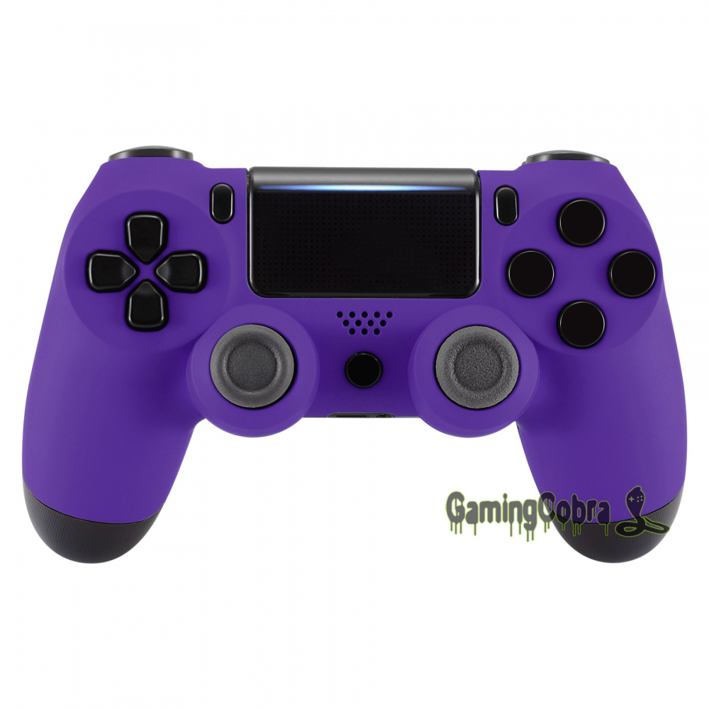 Purple Soft Touch Upper Housing <font><b>Shell</b></font> Fix Part for PS4 Pro PS4 Slim Controller <font><b>JDM</b></font>-040 <font><b>JDM</b></font>-050 <font><b>JDM</b></font>-<font><b>055</b></font> #SP4FX05 image