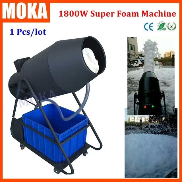 Party Spray 1800W  Foam Maker Machine Large Foam Fantasy Machines Foam Canon Machine