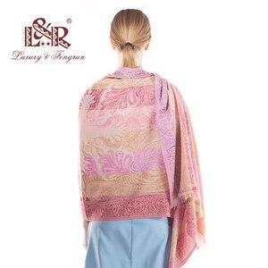 Image 4 - 2018 אופנה ארוכה פייזלי צעיף נשים צעיף ראש צעיף חיג אב פרח בציר הנשי צעיפי נדנה הדפסת מותג יוקרה