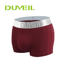 DUVEIL 3pieces Lot Men Modal Breathable Sports Underwear Flexible Four Corners Underpants 3D Convex Thickening Soft Boxer Shorts cheap Fits true to size take your normal size DVL-003 95 modal and 5 spandex M L XL XXL Wine Red Navy Black Gray Olive green