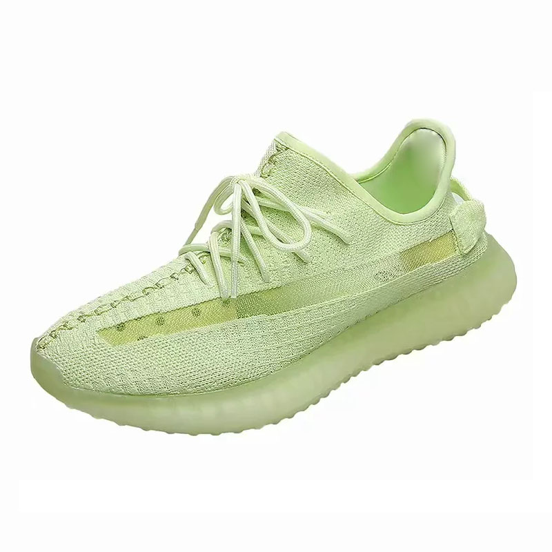 Coconut fluorescent green 350v2 mens shoes breathable casual shoes sports student shoes luminous Womens Running Couple ShoesCoconut fluorescent green 350v2 mens shoes breathable casual shoes sports student shoes luminous Womens Running Couple Shoes