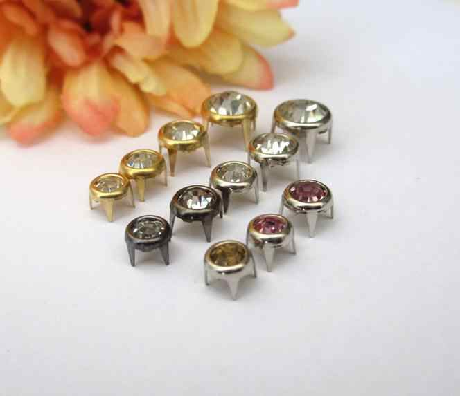 93bb84ee695 Detail Feedback Questions about Rhinestone inlay garment rivets ...