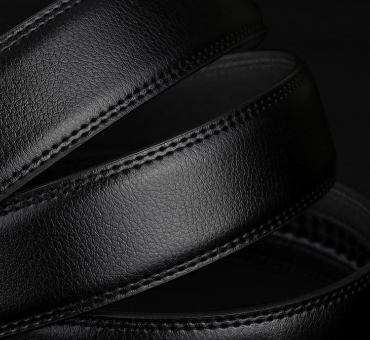 Designer Men's Leather Strap Girdle Wide Belt