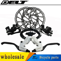 1set Mechanical Disc Brakes Cycling Bicycle Bike Brake And Lever And 160mm Rotor FOR AVID Elixir