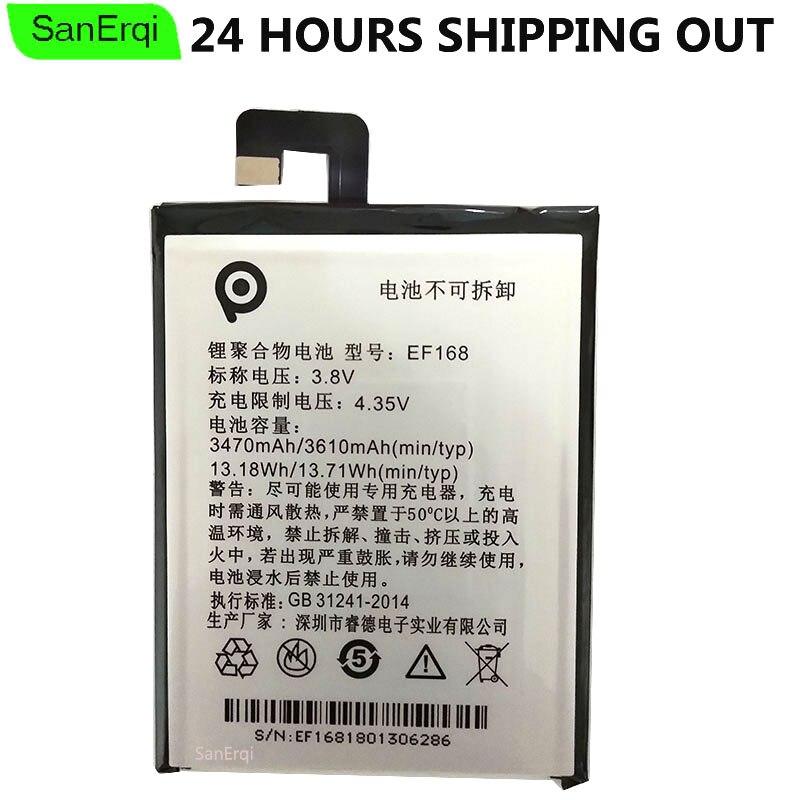 Pour PPTV Roi 7 Batterie EF168 D'origine king7 Rois PP6000 Batterie Bateria 3610 mah/13.71Wh 3.8 v