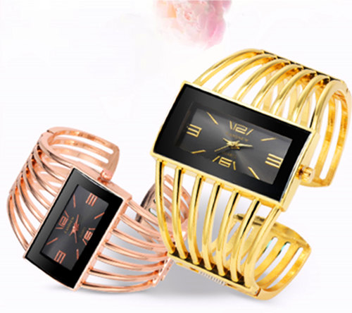 CANSNOW Womens Watch Luxury Fashion Rose Gold Bangle Bracelet Watch Women Dress Clock Female Lady Saati Girls Wristwatch Relojes 3