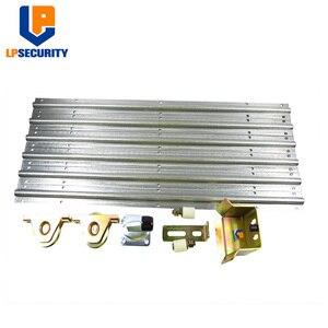 Image 1 - Porta deslizante acessórios de ferragem kit pista rolha rodas rolo guia abridor