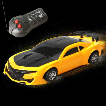 RC Cars Black and Yellow Radio Remote Controlled Car RC Vehicle Sports Car Drifting Race Car for Kids radio-controlled car