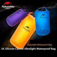 Brand NatureHike Superlight Waterproof Bag Outdoor Travel Rafting Swimming Foldable Water Bag UL Silicone Matereial