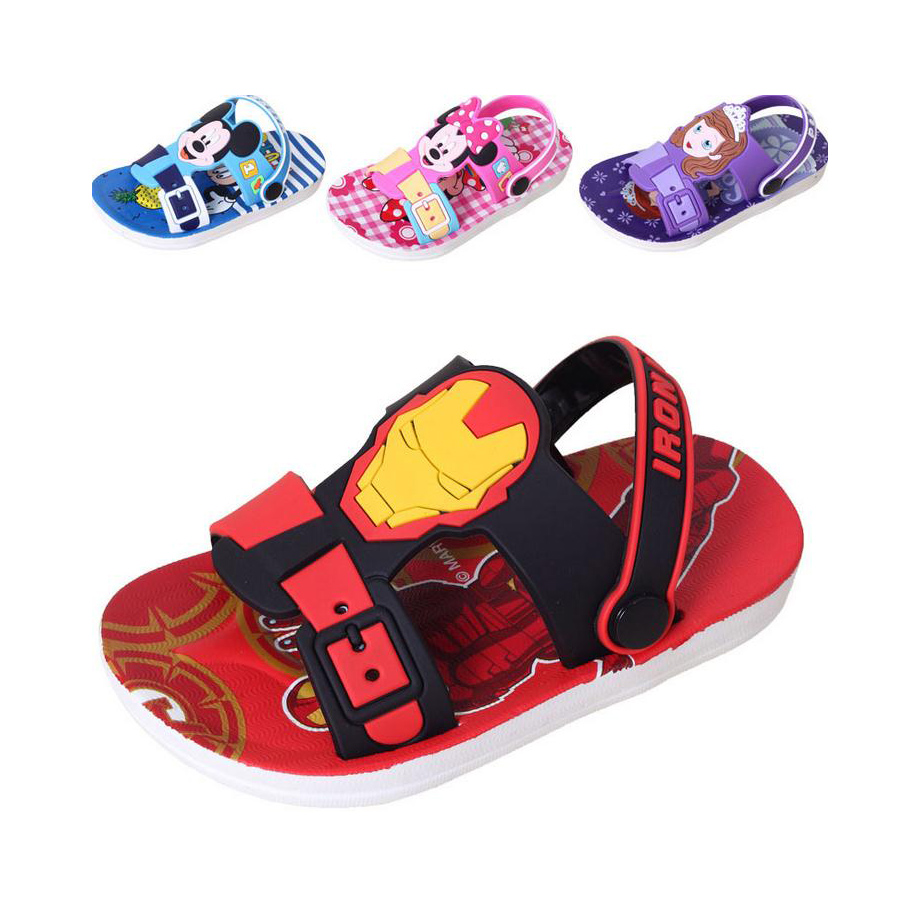 Aliexpress.com : Buy causal baby kids slippers shoes cute mickey ...