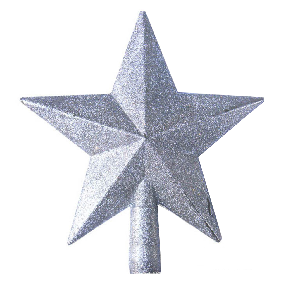 Christmas Tree Top Star Plastic Christmas Star Tree Topper For Table ...