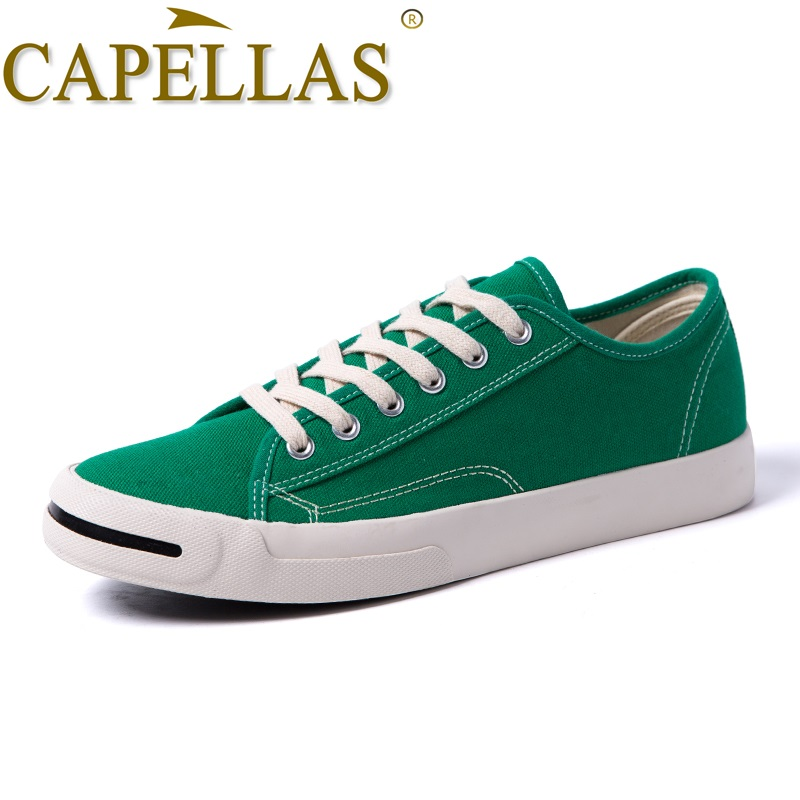 CAPELLAS Nieuwe Mens Casual Canvas Schoenen Mode Heren Canvas - Herenschoenen - Foto 2