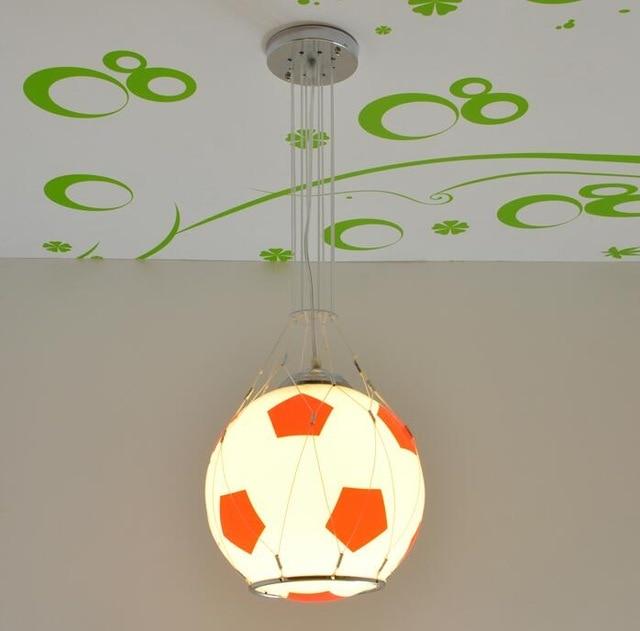 Us 82 77 7 Off Kinder Spielzeug Moderne Paket Fernbedienung Led Lampe Madchen Jungen Basketball Fussball Saug Pendelleuchte Beleuchtung Schlafzimmer