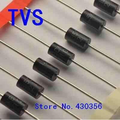 50PCS Transient Voltage Suppressor P6KE12CA diodes TVS DIODE 12CA P6KE
