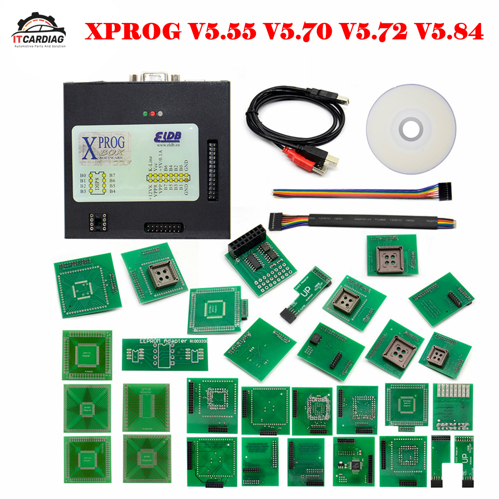 New <font><b>XPROG</b></font> <font><b>V5.55</b></font> V5.70 V5.74 V5.84 Auto ECU Chip Tuning Programmer <font><b>Xprog</b></font>-M More Authorization ECU Programming Interface <font><b>Xprog</b></font>-M image