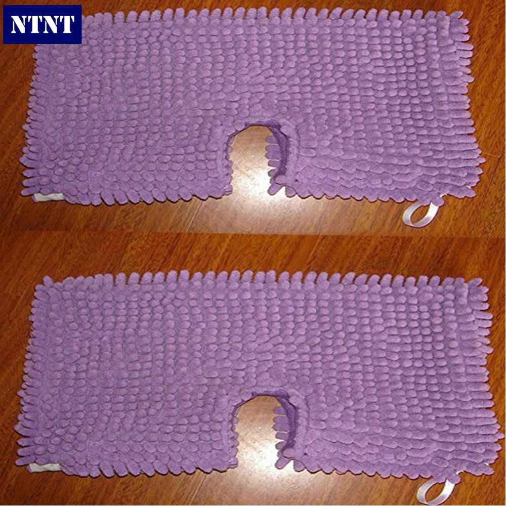 NTNT Free Post Ship New 2x Washable Microfibre Coral Steam Mop Cloth For Shark Pad S3501 S3601 S3901 free post 4 x vax s87 t2 steam mop coral microfibre pads