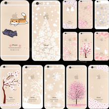 Novel Styles Painting Tree Fruit Silicon Phone Cover Cases For Apple iPhone 4 iPhone 4S iPhone4S Case Shell JTD TQD LDA OTQQ