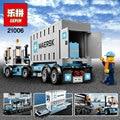 EN STOCK Lepin 21006 1234 unids Genuino Technic Serie Ultimate El Maersk Tren De Juguete Bloques de Construcción Ladrillos Juguetes 10219