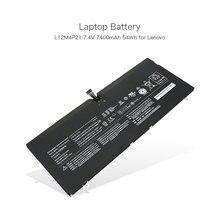 100% оригинал 7.4 В 7400 мАч 54wh laptop вспомогательный аккумулятор для lenovo yoga 2 pro 13 y50-70as-ise l12m4p21 2icp5/57/128-2 ultrabook